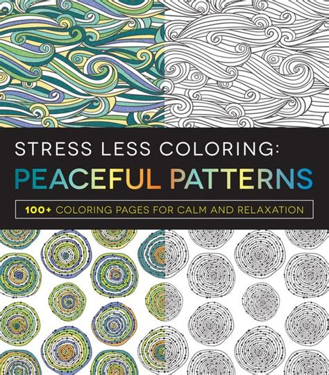 anti stress coloring book target stress less peace patterns coloring book with soft