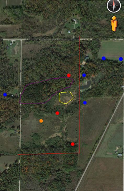 online land layout land layout michigan sportsman online michigan hunting