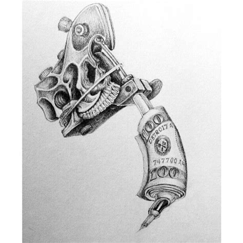 tattoo gun drawing 16 best tattoomachine images on designs