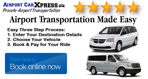 Transportation Services To Airport by Airport Transportation Cleveland S 1 Airport Shuttle