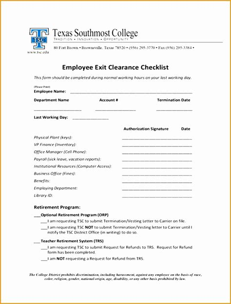 employee exit template word 7 free printable fax cover sheet resume free sles