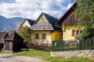 in homes traditional village life in vlkolinec slovakia travel addicts