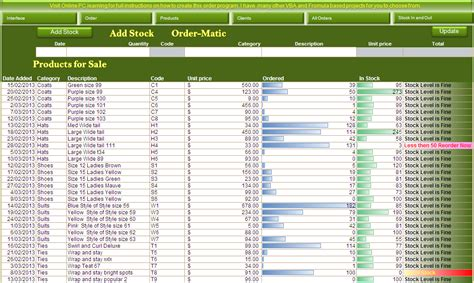 Sle Of Excel Spreadsheet by Inventory And Sales Manager Excel Template Sle Excel