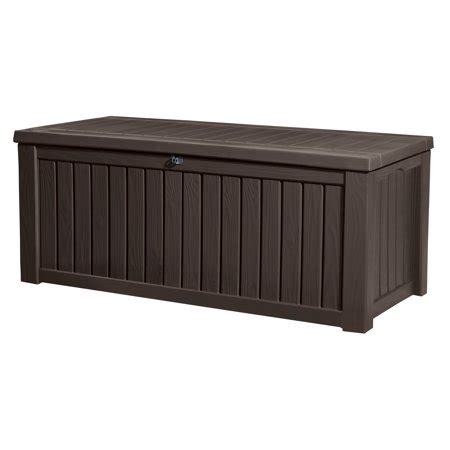 Keter Rockwood Outdoor Plastic Deck Storage