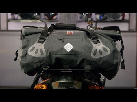firstgear torrent duffle bag review at revzilla.com youtube