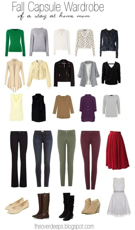 Wardrobe For Stay At Home by Fall Capsule Wardrobe Of A Stay At Home Capsule