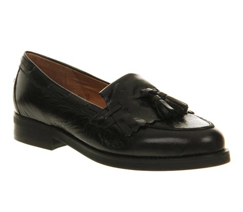 office black loafers office extravaganza loafer black leather in black lyst