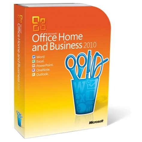 Office 2010 Home And Business by Microsoft Office Home And Business 2010 For 1 Pc