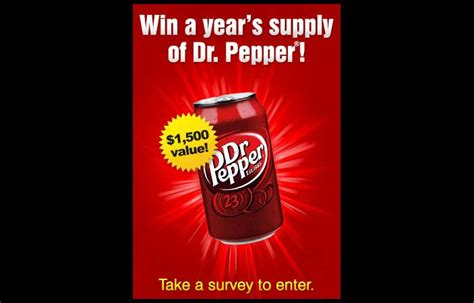 Dr Pepper Sweepstakes - dr pepper sweepstakes us only