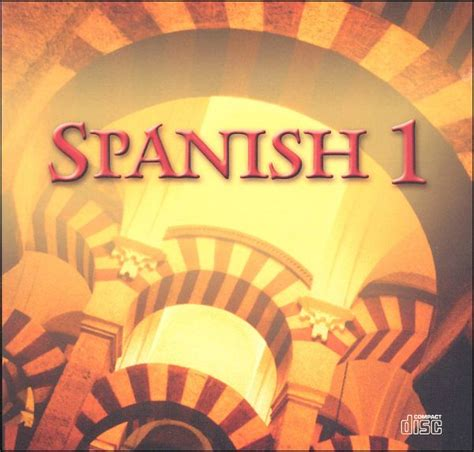 talk spanish 1 book cd 140667897x spanish 1 2 and 3 bju press