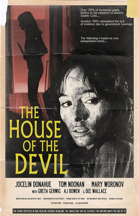 house of the devil the house of the devil movie poster 11x17