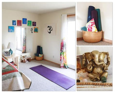 create your room 15 inspirations for a yoga space at home jewelpie
