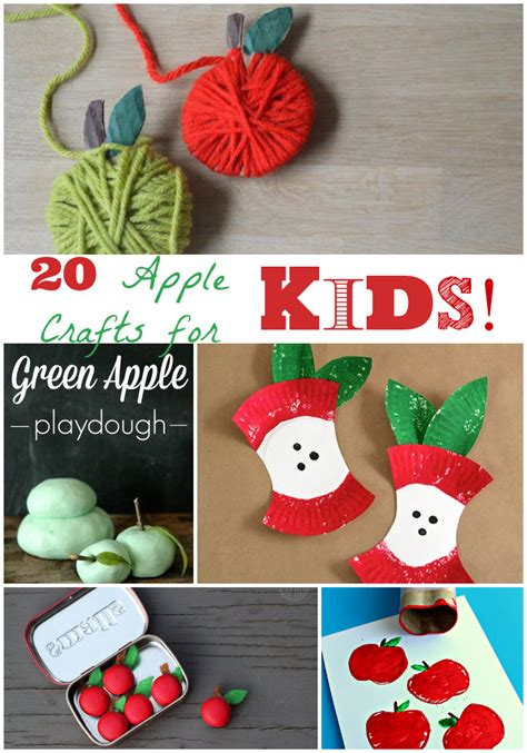 apple crafts for the of fall apple crafts for