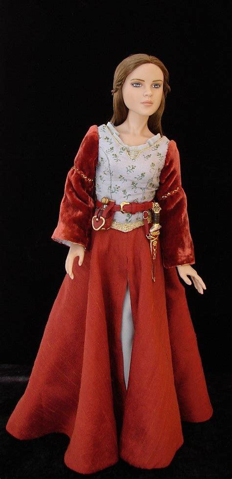 design a doll lucy lucy pevensie ooak costume for a doll from chronicles of