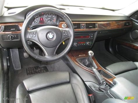 2007 Bmw 3 Series Interior by Black Interior 2007 Bmw 3 Series 335i Coupe Photo