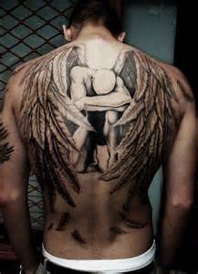 daily vibes angel tattoos