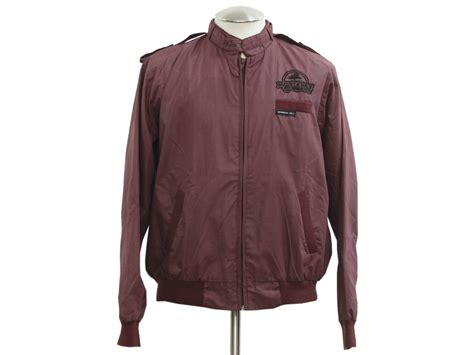 Sweater Mm Maroon Abu retro eighties jacket 80s members only mens maroon cotton polyester poplin casual jacket with
