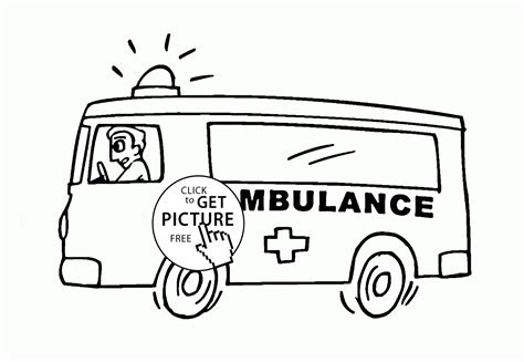 emergency vehicle coloring books coloring pages