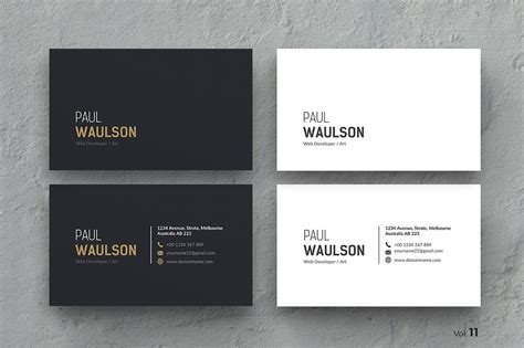 Most Official Business Card Template business card business card templates creative market
