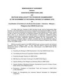 Template Of Memorandum Of Agreement best photos of memorandum of agreement template sample
