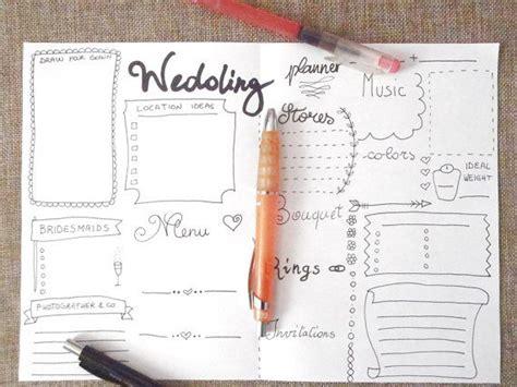 Printable Wedding Planner Journal | wedding planner journal wedding ideas agenda diary diy