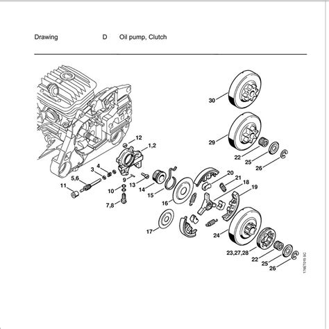 stihl ms200t parts diagram buy a stihl ms460 spare part or replacement part for your