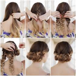 Do It Yourself Projects creative ideas diy easy braided updo hairstyle