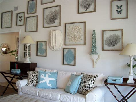 sea themed home decor breathtaking sea ornament on nice frame fit to beach