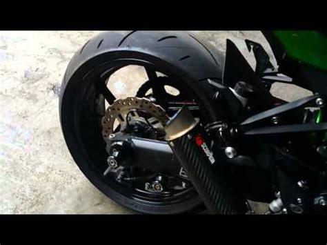 Knalpot Racing Yamaha Er6n Scorpion Power Karbon Fiber petez1000 เส ยงท อแต ง kawasaki z1000 exhaust sound doovi