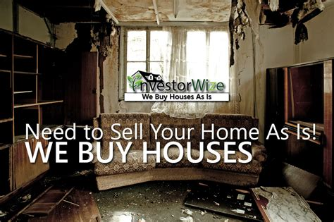 selling your house as is sell your house as is with no repairs investorwize com