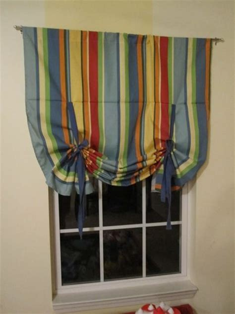 tie up curtain tutorial tie up shades tutorial the ribbon the guest and tie