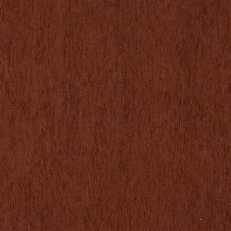 a871 burgundy chenille upholstery fabric by the yard