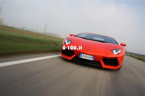 Lamborghini Aventador 0 100 Prova Su Strada Lamborghini Aventador 0 100 Motori