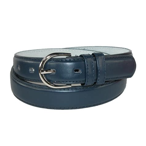 womens leather 1 1 8 inch dress belt by ctm 174 dress belts