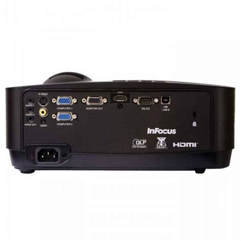 Projector Infocus Epson infocus in122a projector 3500 lumens hdmi usb optional wireless projection