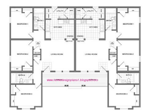duplex floor plans 3 bedroom ranch style duplex floor plans search duplexes and daylight basements