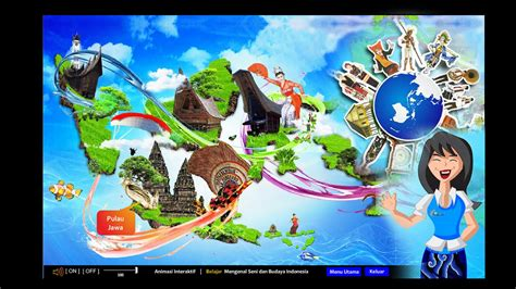 animasi interaktif mengenal seni  budaya indonesia