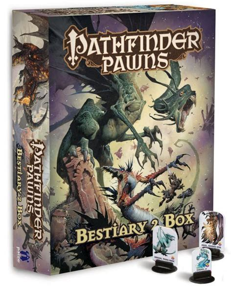 starfinder pawns archive pawn box books apr132199 pathfinder pawns bestiary 2 box previews world