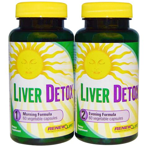 Liver Cleanse Detox by Renew Liver Detox 30 Day Program Iherb