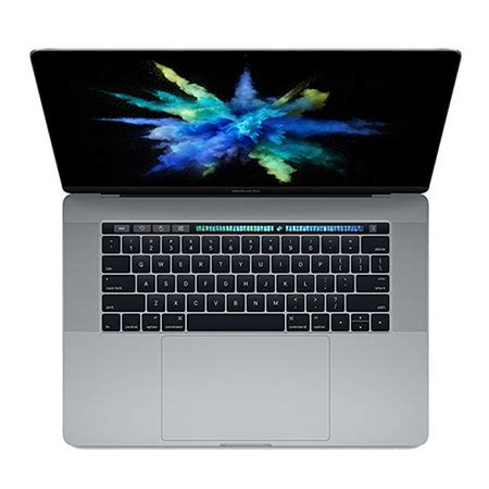 apple macbook pro mlh32, 15 inch with touch bar and touch