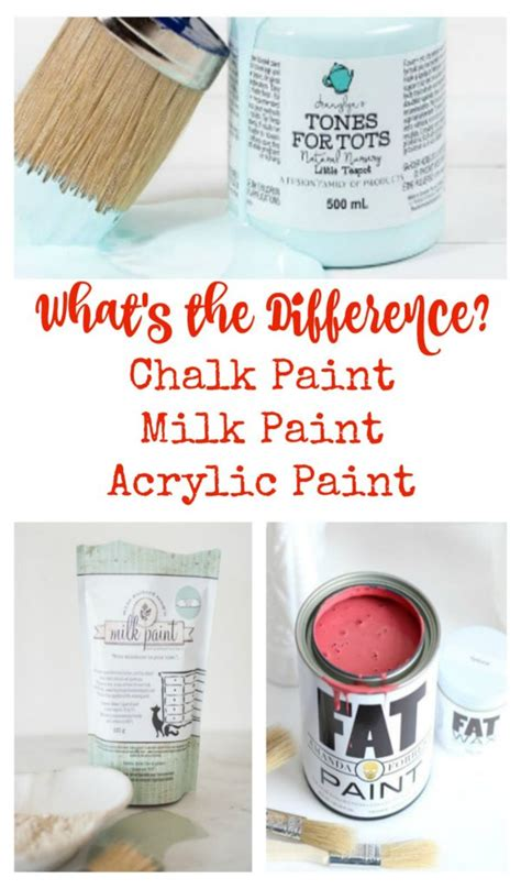 chalk paint vs acrylic paint what s the difference in furniture paints front porch