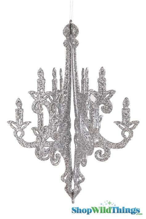 Hanging Chandelier Candelabra 3 D Decorative Ornament 16 Ornaments Hanging From Chandeliers