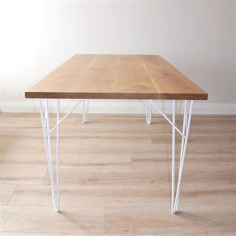 white and oak dining table tongariro oak dining table ico traders