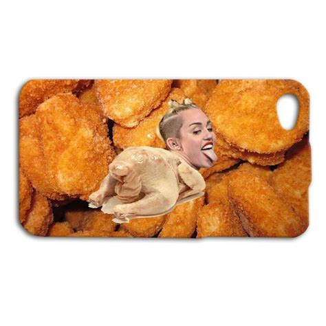 Nuget Cutel miley cyrus phone chicken cover iphone 5