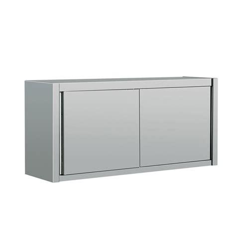 Sliding Door Wall Cabinet Eq Economy Stainless Steel Sliding Door Dish Storage Wall Cabinet 39 X 16 X 26 Ebay