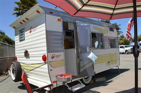 sweet trailer a sweet cardinal travel trailer vintage travel