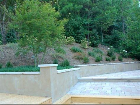 how to fix a sloped backyard how to landscape a sloping backyard diy