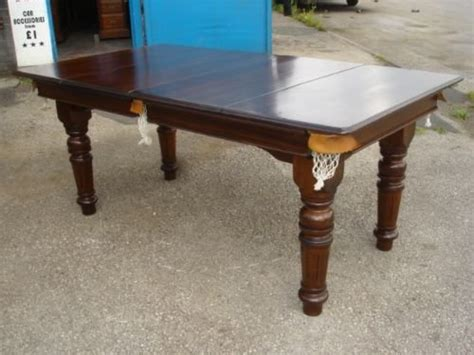 antique e j snooker dining table kitchen table