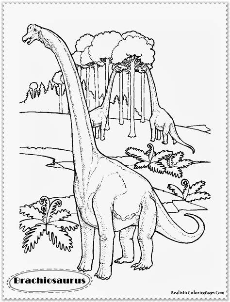 realistic dinosaur coloring pages realistic coloring pages