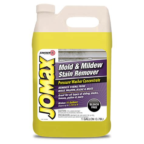 mold amp mildew stain remover pressure washer concentrate